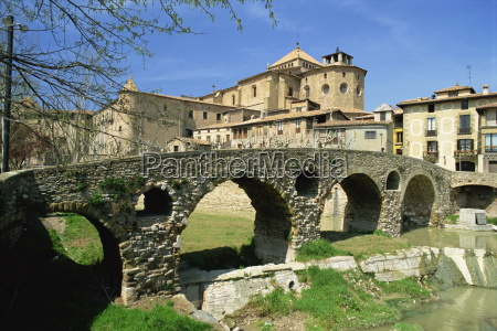 the old bridge and cathedral in