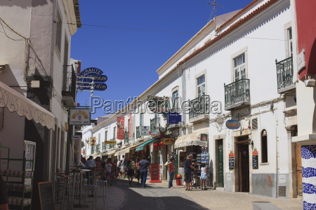 street in the old town of