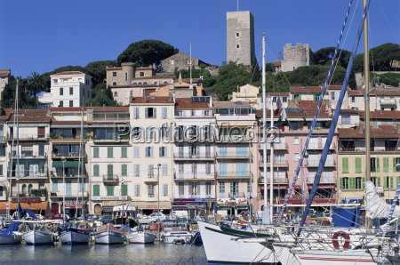 le suquet and the harbour old