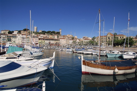 le suquet and harbour old town