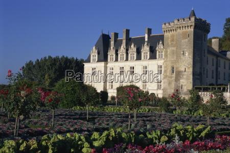 gardens chateau de villandry loire valley