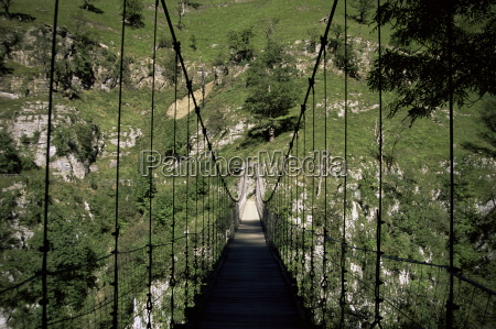 bridge near larrau holzarte pays basque
