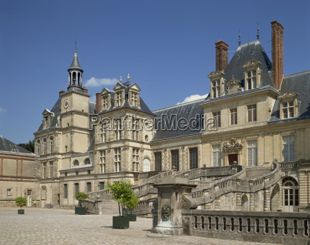 the palace at fontainebleau unesco world