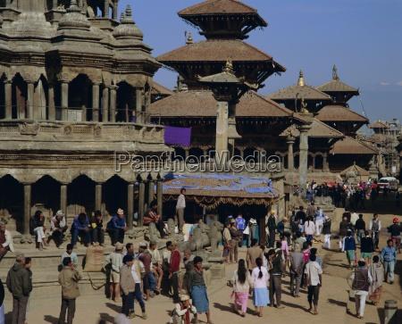 durbar square patan kathmandu valley nepal