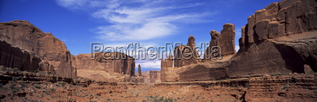 park avenue arches national park moab