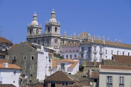 sao vicente church lisbon portugal europe