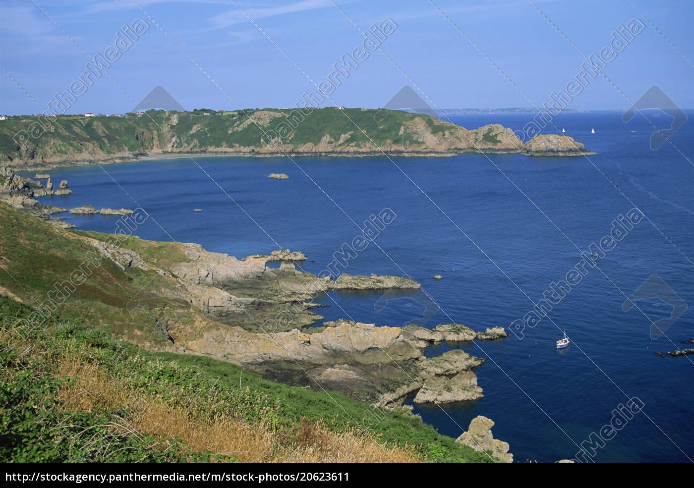 moulin, huet, bay, guernsey, kanalinseln, großbritannien, europa - 20623611