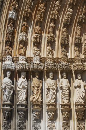 doorway arch santa maria da vitoria