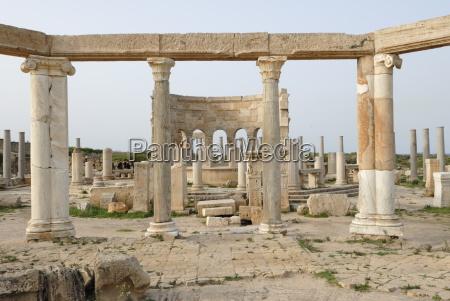 market leptis magna unesco world heritage