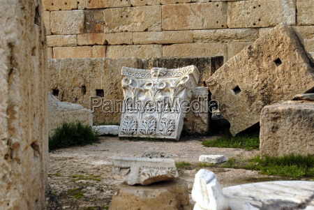 severan forum leptis magna unesco world