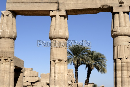 temple of karnak near luxor thebes
