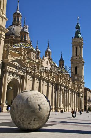 nuestra senora del pilar basilica with