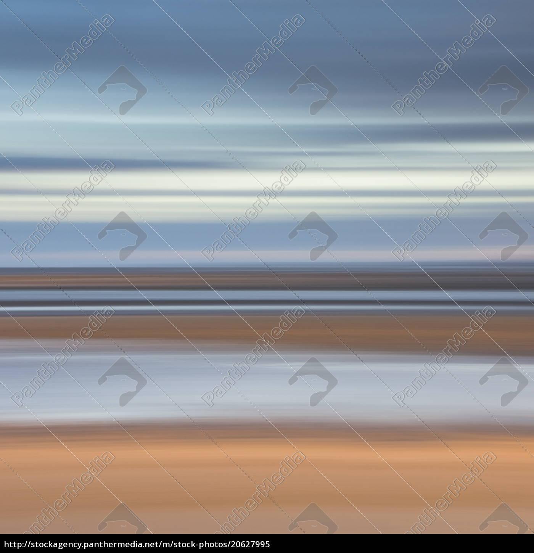 abstraktes, bild, der, aussicht, vom, alnmouth - 20627995