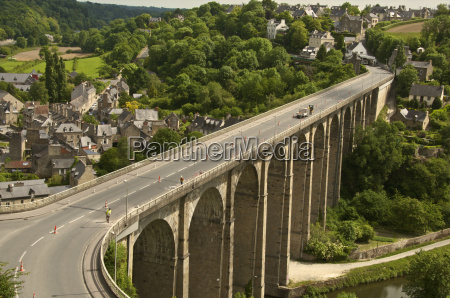 the viaduct dinan cotes darmor brittany