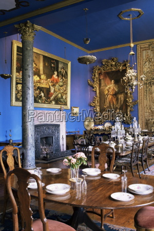 interior of bantry house dating from