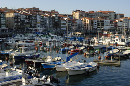 fishing and pleasure harbour lekeitio basque