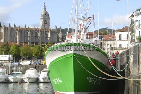 altes, fischerboot, aus, holz, und, gotische - 20630907