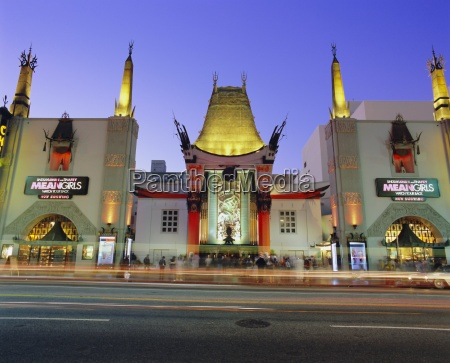 graumanns chinese theater los angeles california