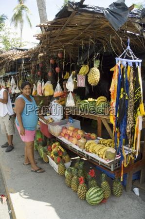 food vendors manuel antonio costa rica