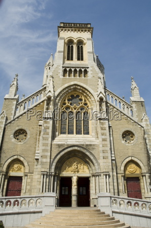church biarritz basque country pyrenees atlantiques