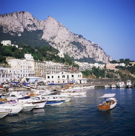 marina grande island of capri campania