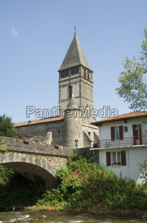 old church in st etienne de