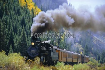 steam train durango silverton railroad