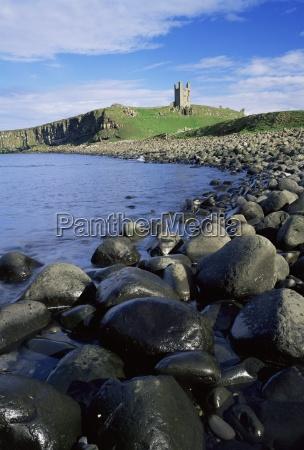 dunstanburgh castle northumberland england united kingdom