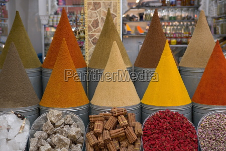 spices for sale mellah district marrakesh