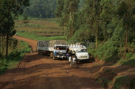 fahrt reisen verkehr verkehrswesen afrika horizontal