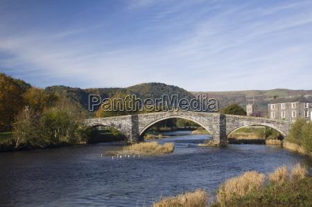 pont fawr bridge arched stone bridge