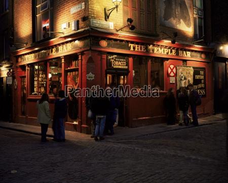 temple bar dublin eire republic of