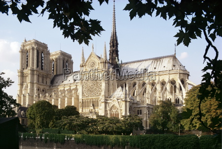 cathedral of notre dame paris france