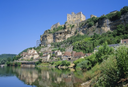 beynac the dordogne aquitaine france europe