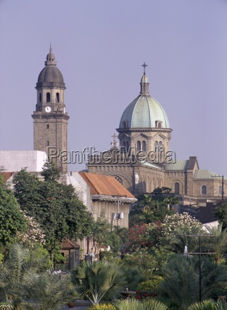 christian cathedral manila manilla philippines southeast