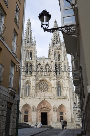 west front of burgos cathedral unesco