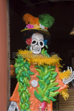 day of the dead decoration oaxaca