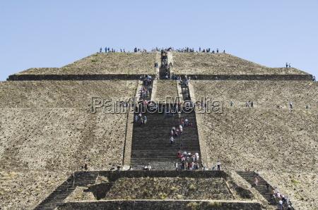 pyramid of the sun teotihuacan 150ad