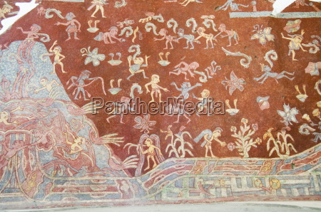 murals teotihuacan 150ad to 600ad and