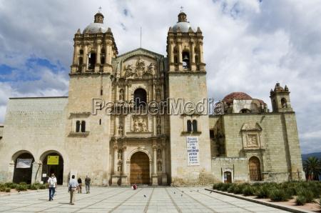 church of santo domingo oaxaca city
