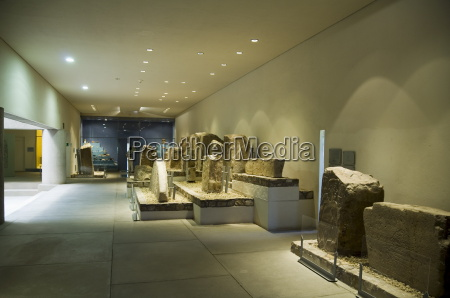 the archaeology museum at monte alban