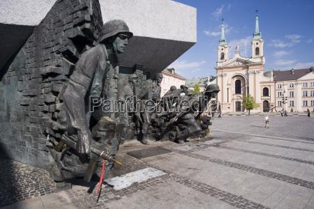 monument to the warsaw uprising pomnik