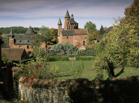 collonges la rouge correze limousin france