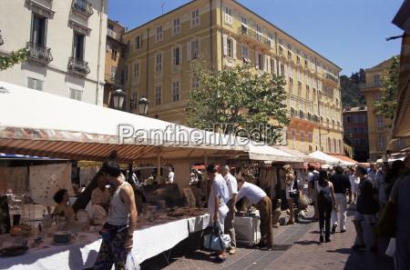 monday antiques market cours saleya nice