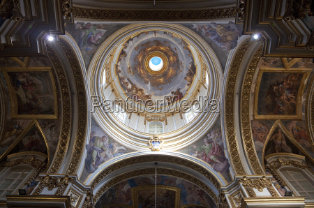 kuppel st paul es cathedral mdina