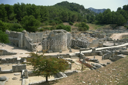 the remains of roman town of