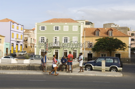 mindelo sao vicente cape verde islands