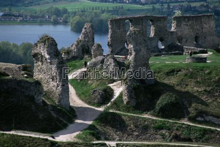 chateau gaillard and the river seine