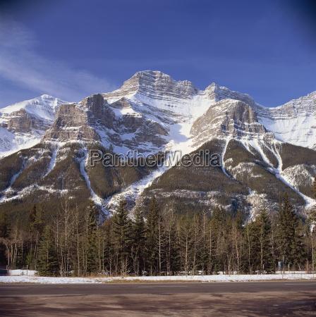 fahrt reisen berge horizontal kanada outdoor
