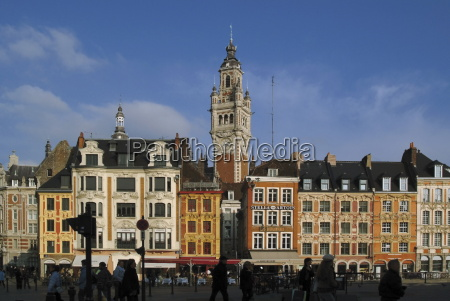 flemish buildings in the grand place